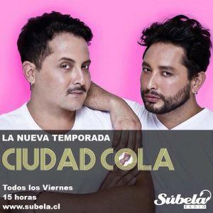 #CiudadCola con #GagBall, @djcaso y @Valdiversa
