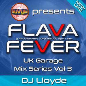 Dj Lloyde - Flava Fever Mix Series Vol 1