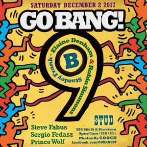 Steve Fabus & Sergio Fedasz at Go BANG! February 2012