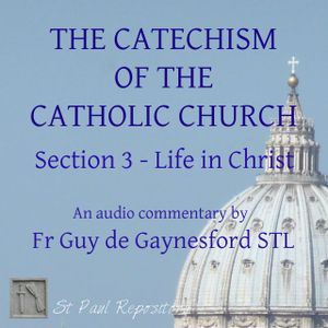 Catechism of the Catholic Church Section 3 – 3 The Morality of Human Acts (1749-1761) by Fr Guy de G
