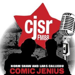Episode 680-Comic Jenius-Norm-Guests Lars Callieou, Sugar Sammy, Mia Tate
