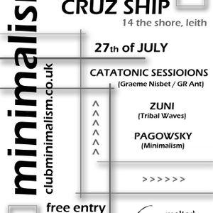 Pagowsky at Club Minimalism 23rd of June ( Warm up set )