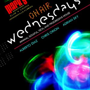 DJ ALBERTO DIAZ @ ON AIR WEDNESDAYS // JUNE 20th