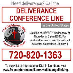 EPISODE 160: Weekly Deliverance Sessions 11-15-16
