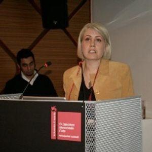Basak Senova - curator, The pavilion of Turkey @ 53rd International Art Exhibition La Biennale di Ve