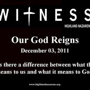 Highland Nazarene - Our God Reigns!