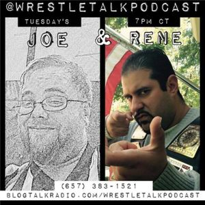 Wrestle Talk Podcast with special guest Philip Stamper and Kyle Roberts
