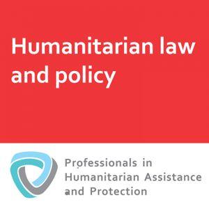 Humanitarian coordination: OCHA and NGOs in humanitarian coordination