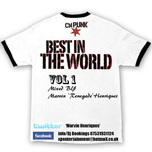 BEST IN THE WORLD VOL 1 mixed by Marvin Henriques
