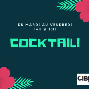Cocktail 28 juin - 17h à 18h
