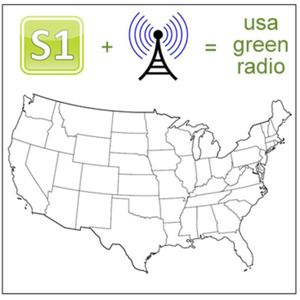North and South Dakota Green Radio