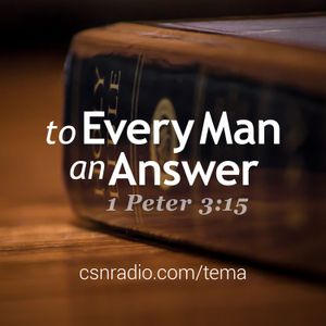 To Every Man An Answer 1/17/2017