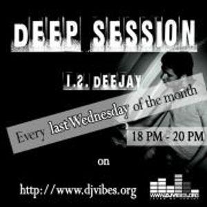 I.S. Deejay - Deep Session 012 (24 October 2012)+Guest mix DJ Keeper of sound aka DJ Pavlin Shumanov