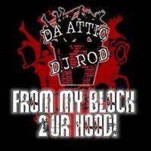 DJ ROD DA ATTIC AND HIPHOP CD