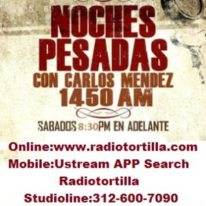 Noches Pesadas Tejano radio show and podcast June 20 2015