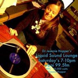 Liquid Sound Lounge NYC DJ Jeannie Hopper - broadcast WBAI 99.5fm November 11, 2012 7-9pm
