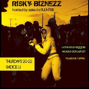 RISKY BIZNEZZ live! DJ SUPA SONIC (02.08.12)