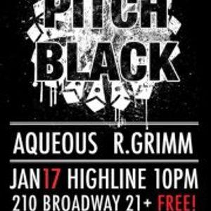 Pitch Black - 1/17/2013 - Aqueous & River Grimm Live