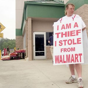 shoplifting is not a crime #013