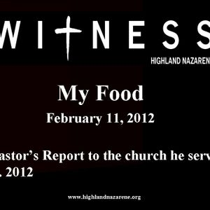 Highland Nazarene - My Food