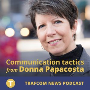 Trafcom News Podcast 141: The business of podcasting – working with clients in studio and on locatio