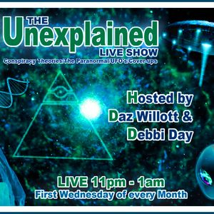 The Unexplained Show - hour 1 Ufo special - with 'Danny Mekanik'  4 - 4 - 12