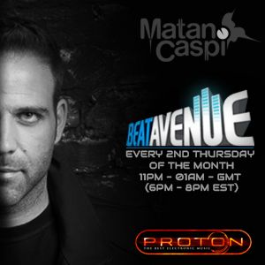 Matan Caspi - Beat Avenue Radio Show 037 October 2014
