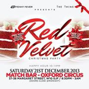 Red Velvet Mix - Sat 21st Dec, Oxford Circus (Match Bar): Limited £10 Tickets & VIP Tables from £150