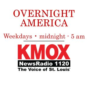 Overnight America with Ryan Wrecker, July 5th, 2017 - 12AM - 1AM