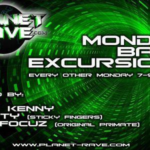 Monday Bass Excursion Show on www.planet-rave.com 25_05_2015