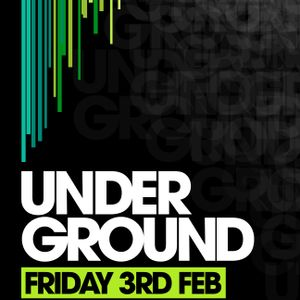UNDER GROUND LAUNCH PROMO 2012