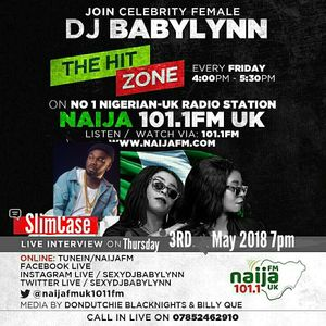 SEXY DJ BABYLYNN LIVE INTERVIEW WITH K-SOLO AND YOUNG BROVA ON HER HIT SHOW AFROHITLIST//on urbanjaz