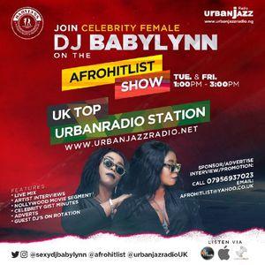 STIDMANS LIVE INTERVIEW ON AFROHITLISTS SHOW BY SEXY DJ BABYLYNN..On www.urbanjazzradio.net
