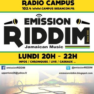 Emission RIDDIM 25 novembre 2013