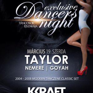 Egy különleges éjszaka, melyen színpad helyett a táncparketten találkozhatnak táncosok és vendégek!