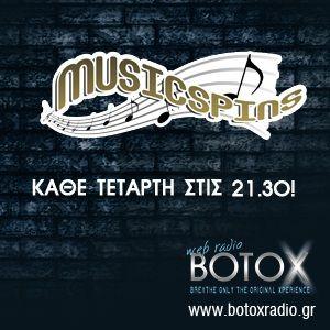 Musicspins @ BOTOX Radio 08/01/2014
