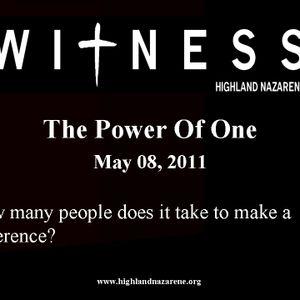 Highland Nazarene - The Power Of One