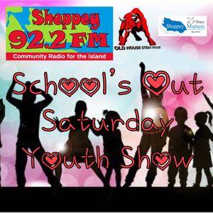 Schools Out Saturday Youth Show On Sheppey FM 92.2 (Alex & Anya) (Saturday 17th July 2021)