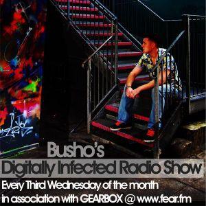 007 Digitally Infected Radio Show  - Louk + Busho Live @ Premonitions 8th Birthday April 2011