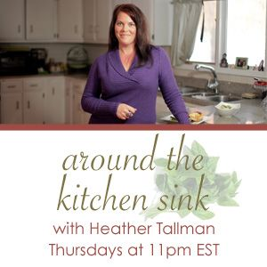 Larks Country Heart chats with Toginet host Heather Tallman on Around The Kitchen Sink 10-12-2012