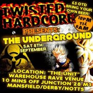dj stomping tom & mc automatic live@twisted hardcore 8/9/12