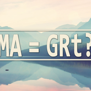 MA = GRt? – Father's Day 2017