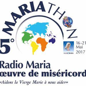 2017-05-18 Mariathon - Emission du diacre Martial Codou sur l'offrande
