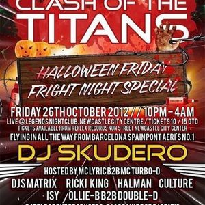 clash ov the titans dj matrix ricki king mc tazo b2b stompin