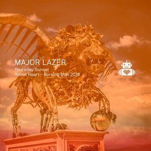 Major Lazer - Sunset - Robot Heart - Burning Man 2016 by Robot Heart