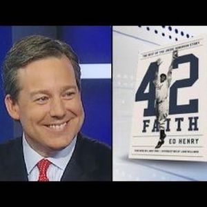 1DimitriRadio:  Fox News Channel ED HENRY Talks About Jackie Robinson Book!