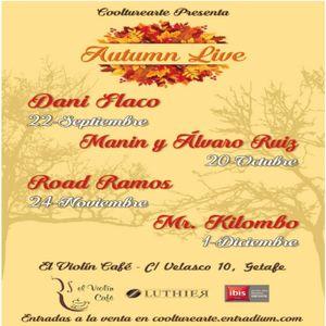 """Coolturearte presenta """"Autumn Live"""""""