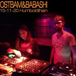Ostbam & Babashi@Humboldthain Berlin 151120