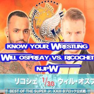 Will Ospreay Vs. Ricochet
