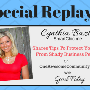 Replay OAC 237 Cynthia Bazin Shares Tips To Protect Yourself